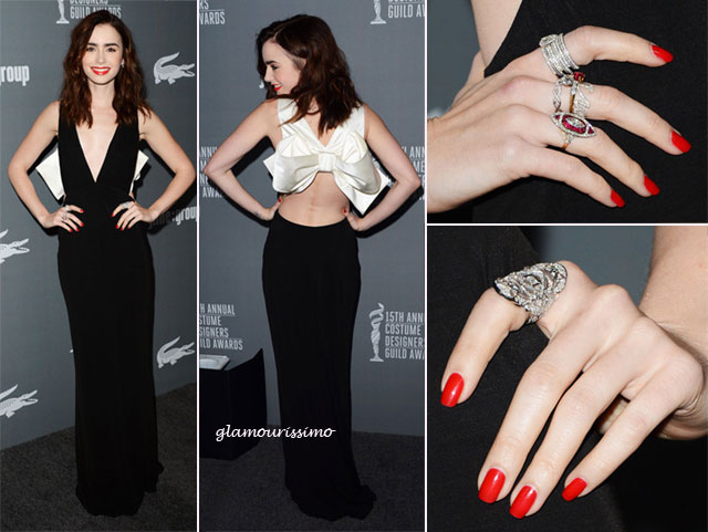 Lily+Collins+15th+Annual+Co