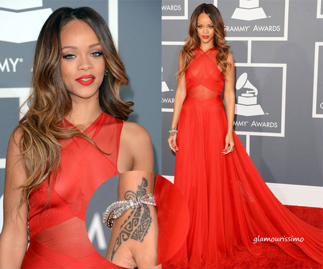 Rihanna+55th+Annual+GRAMMY+
