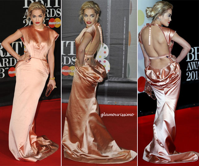 Rita+Ora+Brit+Awards+2013+R